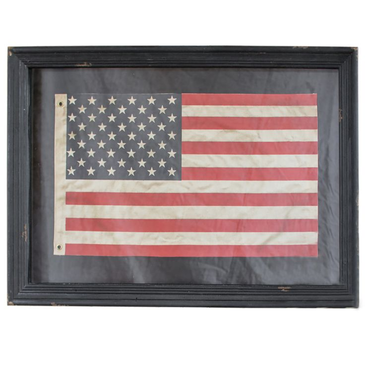 Rustic Framed American Flag With Black Frame. Best 25  Framed american flag ideas only on Pinterest   Banko of
