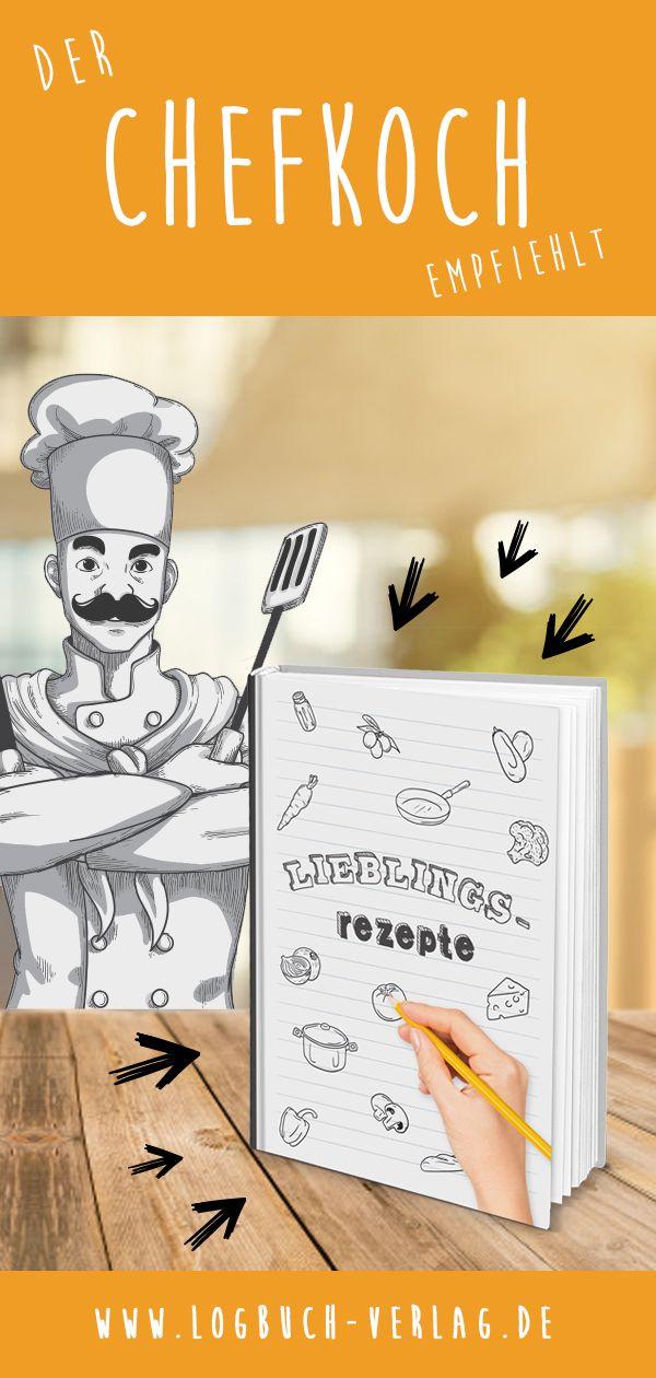 Kocht ihr gerne? Dann könnt ihr in diesem schönen Rezeptbuch eure ...