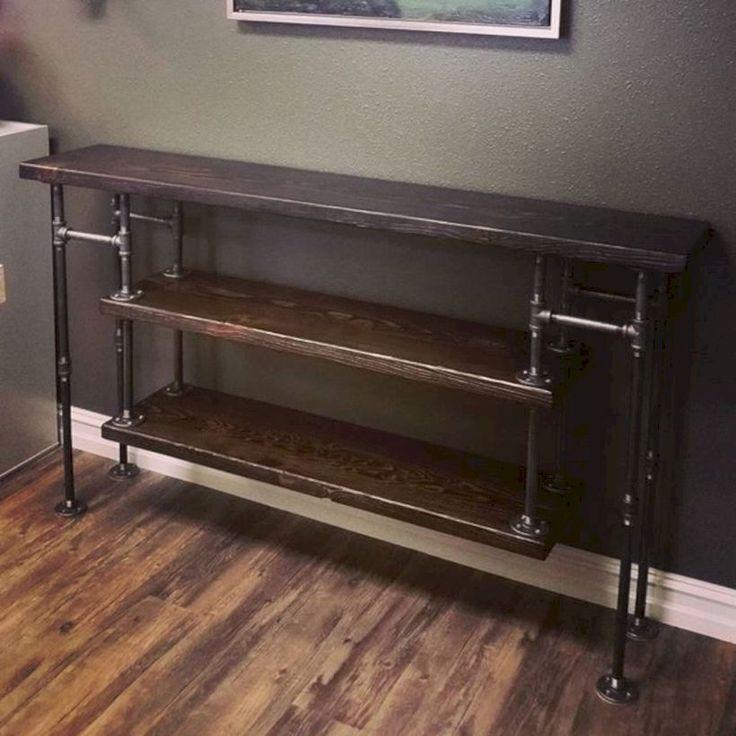 nice 73 modern industrial furniture decorating ideas. Black Bedroom Furniture Sets. Home Design Ideas
