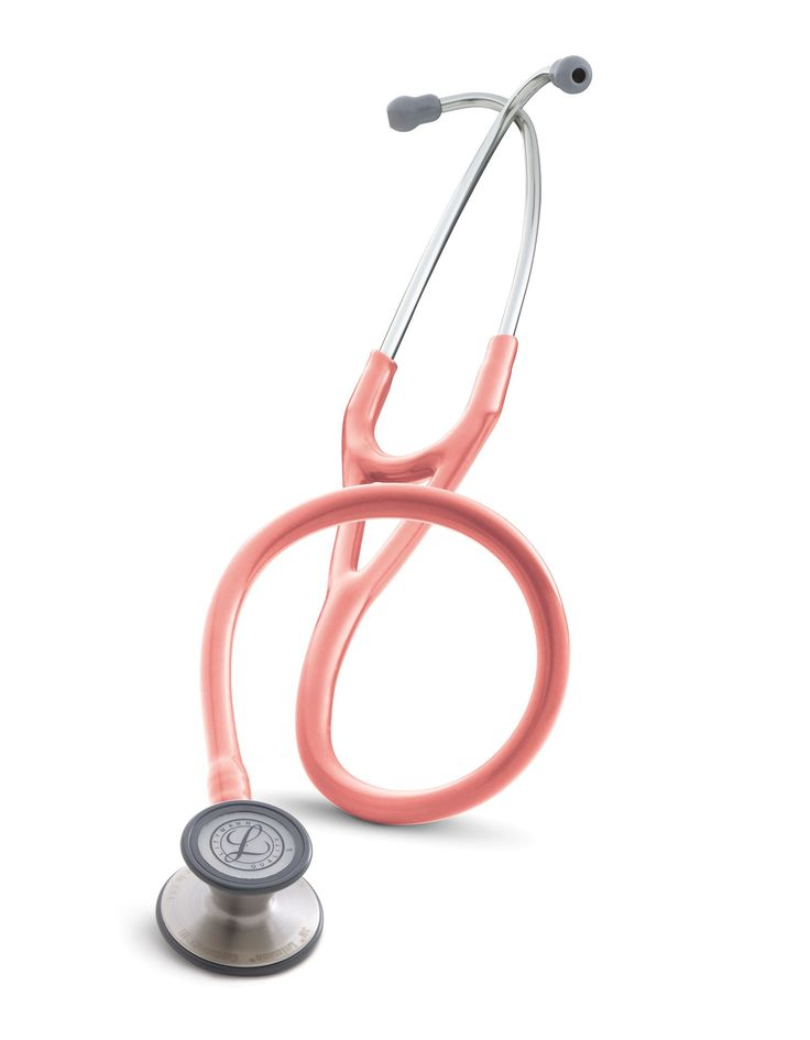 Littmann Cardiology III Stethoscope: Coral Pink 3149