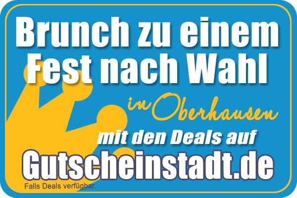 Brunch zu einem Fest nach Wahl in Oberhausen mit Gutscheinstadt