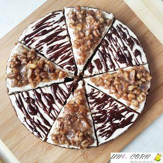 UNI - CORN: Mrkvový koláč s krémem, zkaramelizovanými ořechy a čokoládou