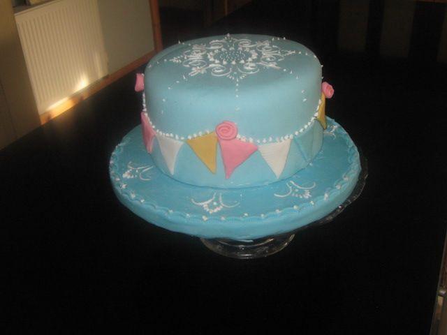 My Bunting cake