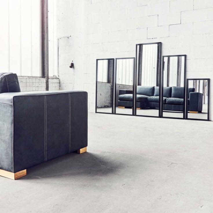 Die besten 25+ schwarze Ledersofas Ideen auf Pinterest schwarze - wohnzimmer design programm
