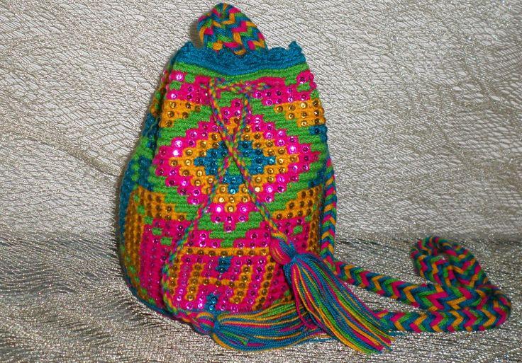 Mochila pequeña Wayuu