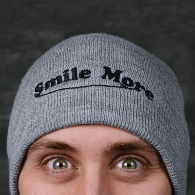 Smile More Beanie – The Smile More Store