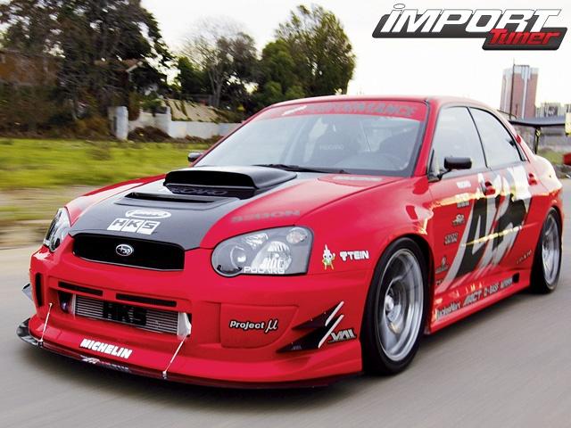 2004 Subaru WRX STI - Red With Envy - Taringa!