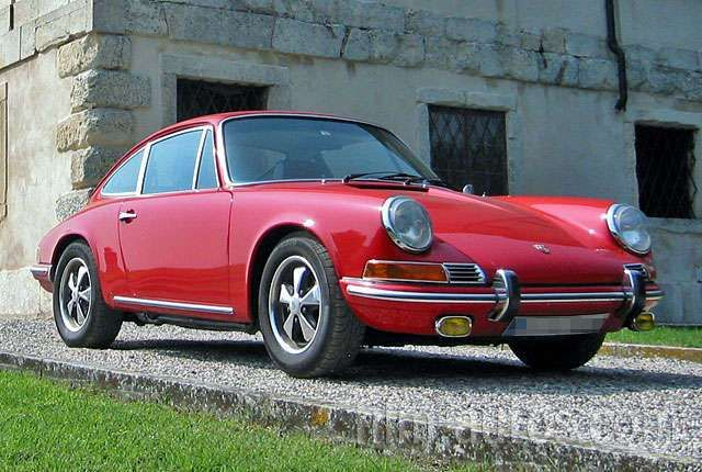 porsche 911 bj 1969 rot f r film foto und events. Black Bedroom Furniture Sets. Home Design Ideas