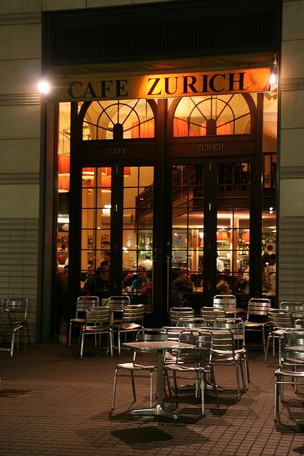 Cafe Zurich, Barcelona One of the top cafes to visit in Barcelona.