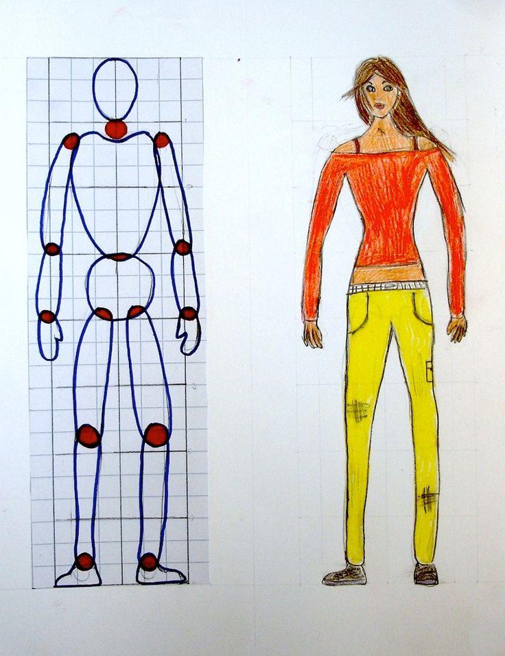 """Spesso, se chiediamo ai nostri ragazzi di disegnare una figura, questa viene costruita secondo proporzioni intuitive, dettate dall'idea di """"..."""