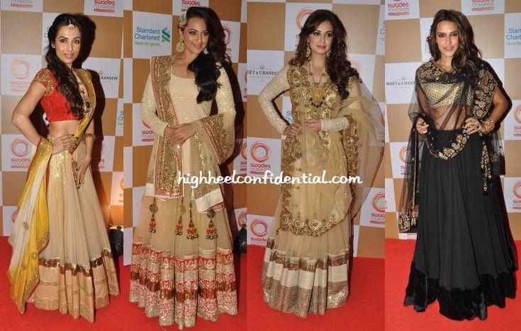 malaika-sonakshi-neha-dia-vikram-phadnis-swades-foundation-charity-auction-show