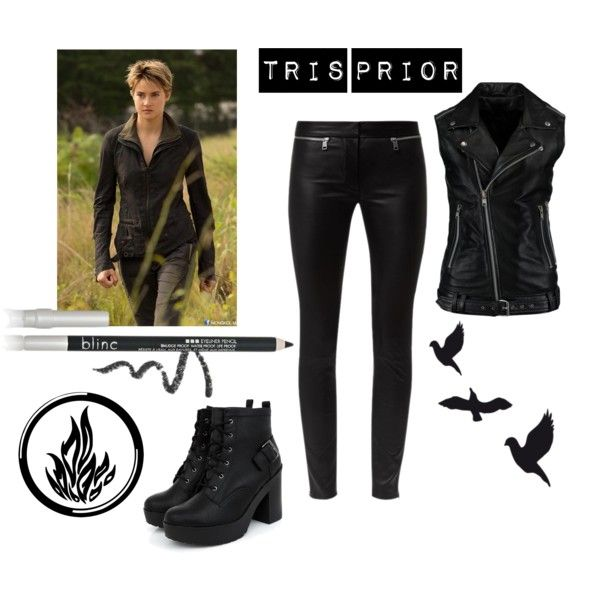 Tris Prior insurgent outfit on Polyvore featuring moda ...