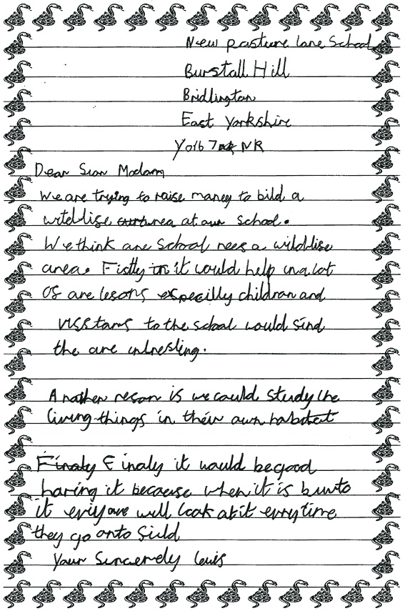 Kids persuasive letter  An example of a persuasive letter
