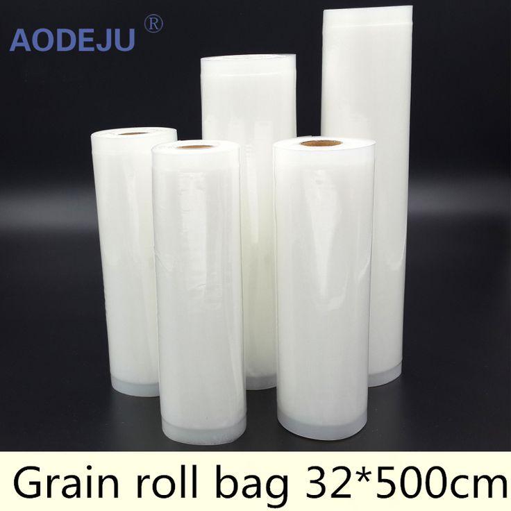 $12.00 (Buy here: https://alitems.com/g/1e8d114494ebda23ff8b16525dc3e8/?i=5&ulp=https%3A%2F%2Fwww.aliexpress.com%2Fitem%2FSingle-grain-packaging-bags-Food-packaging-bags-vacuum-packaging-machine-s-packaging-bags%2F32697917760.html ) 32*500cm Roll Vacuum Bag Fresh - keeping Bag Food Preservation Bag Storage Bag for just $12.00
