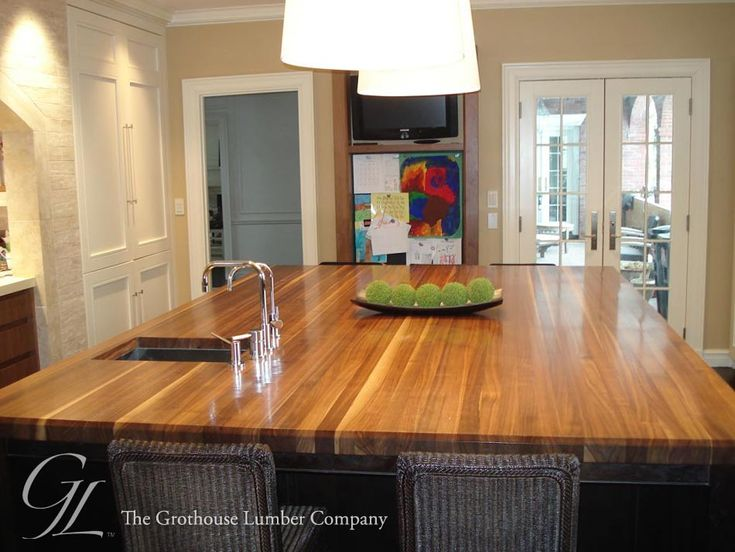 Custom Walnut Wood Countertop In Boston, Massachusetts Https://www.glumber.