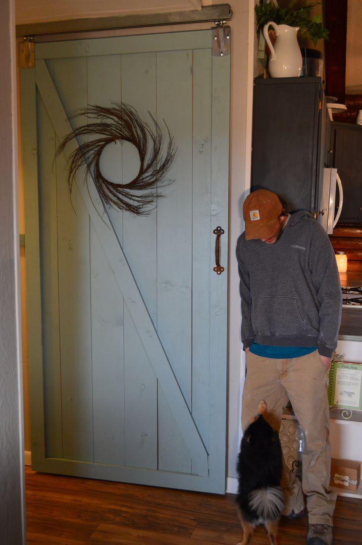 Barn door under  100. 1000  ideas about Barn Doors Lowes on Pinterest   Sliding doors