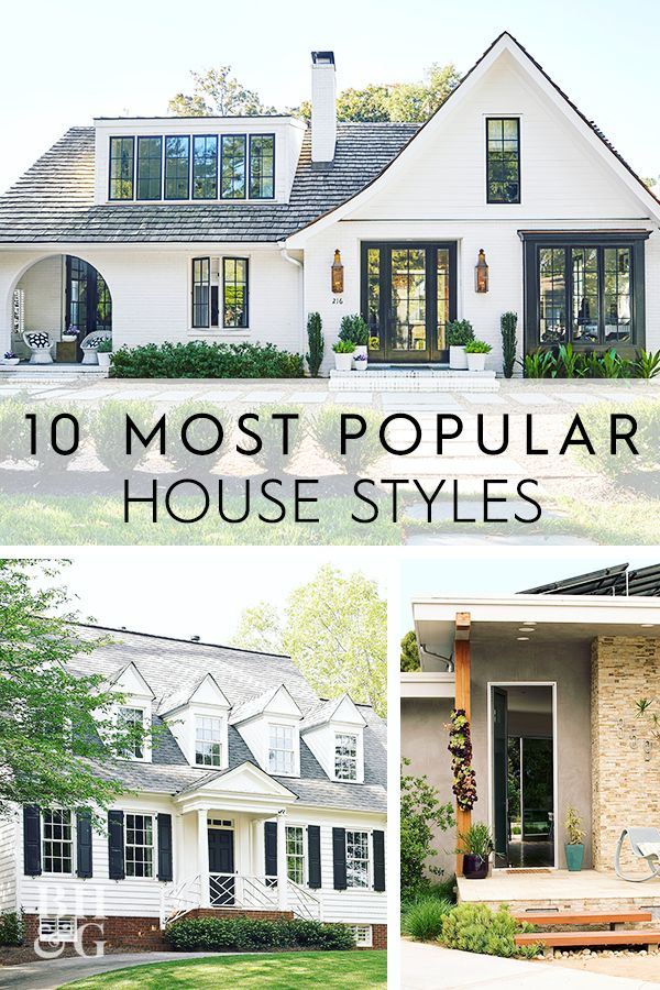 What Style Is Your House The 10 Most Popular House Styles Explained House Styles Different House Styles Types Of Houses Styles
