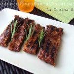Costine alla griglia di seitan con salsa barbecue