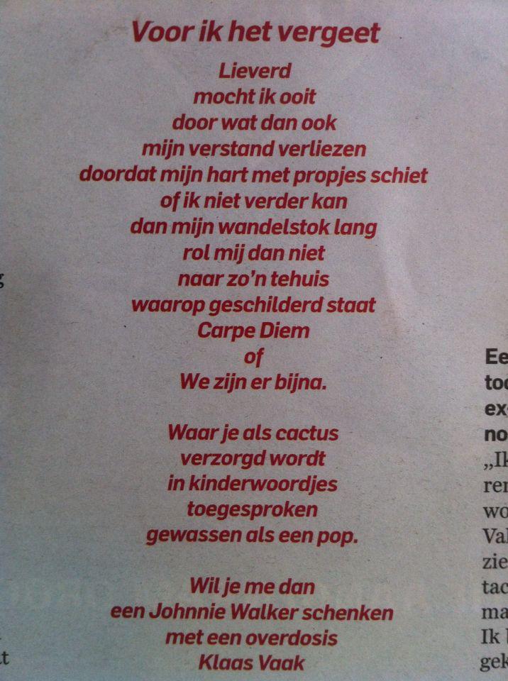 Herman van Veen Voor ik het vergeet