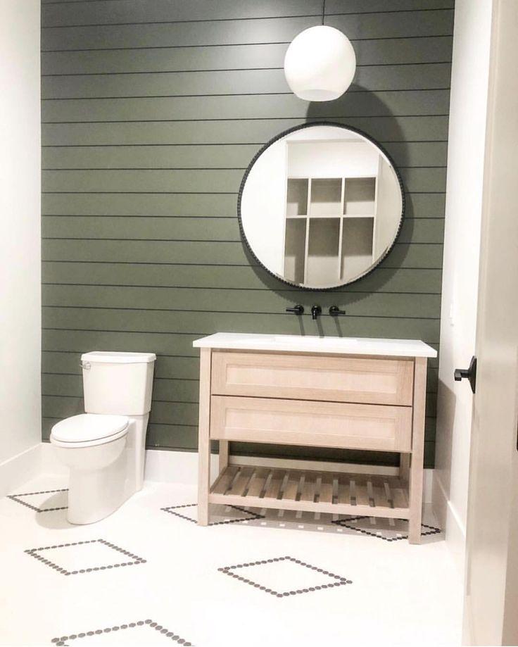 How amazing is my Friend's new bathroom!? I love…