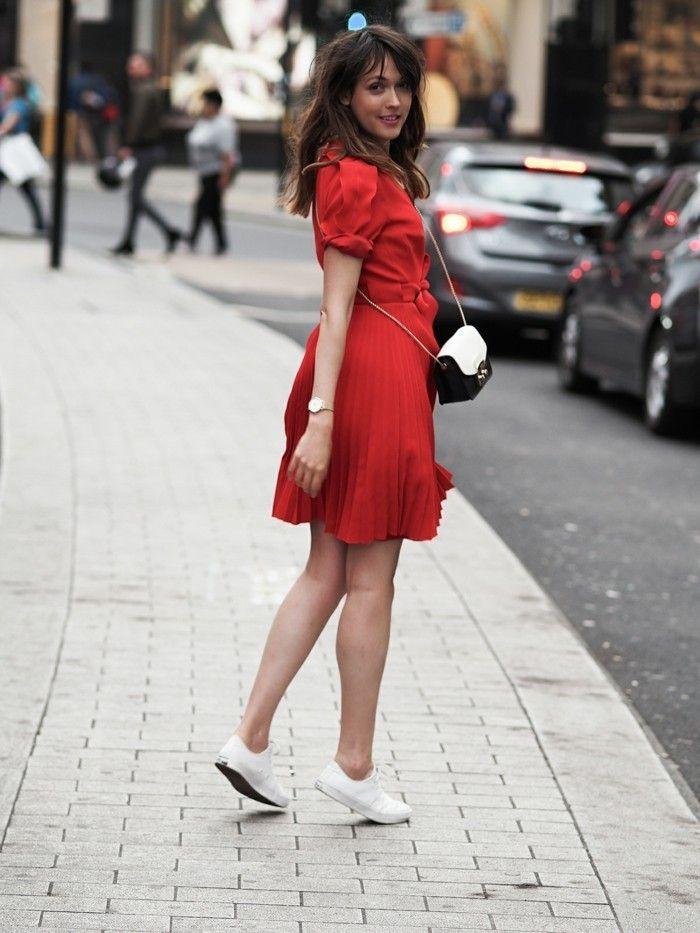 1001 Ideen Fur Rotes Kleid Welche Schuhe Zu Wahlen Rotes Kleid Rotes Abendkleid Kleidung