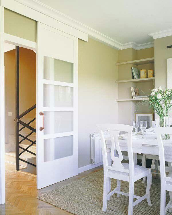 17 mejores ideas sobre puertas ocultas en pinterest - Puertas correderas de salon ...