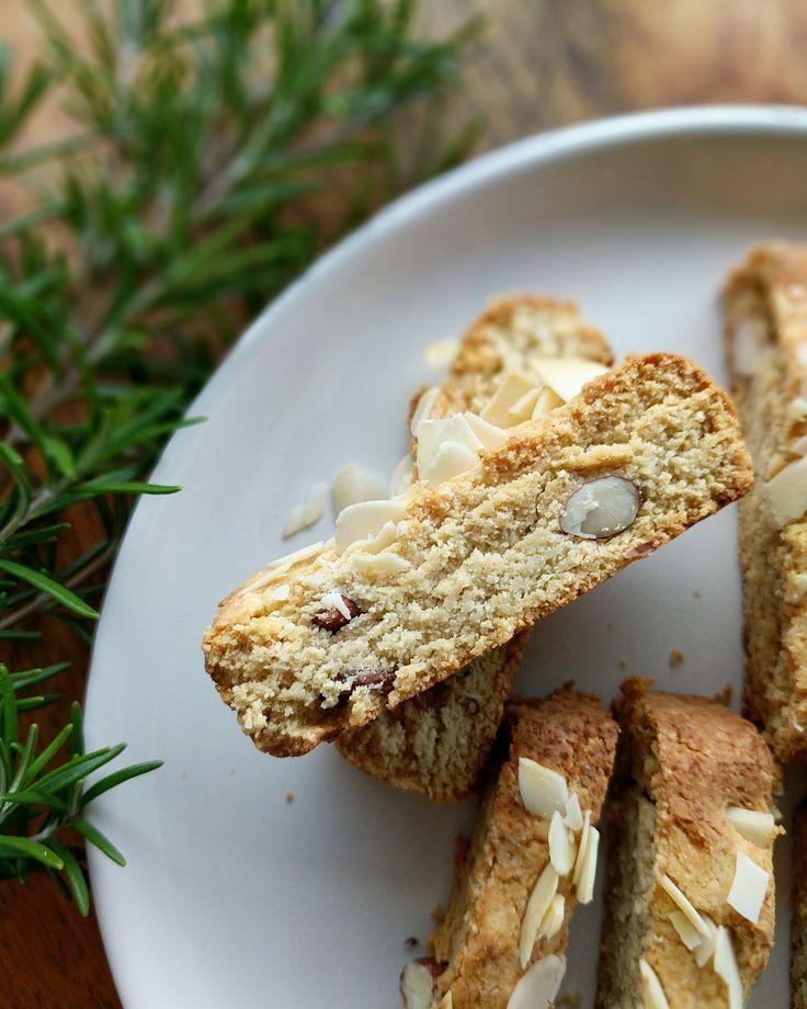 Tasty Gluten free almond biscotti.