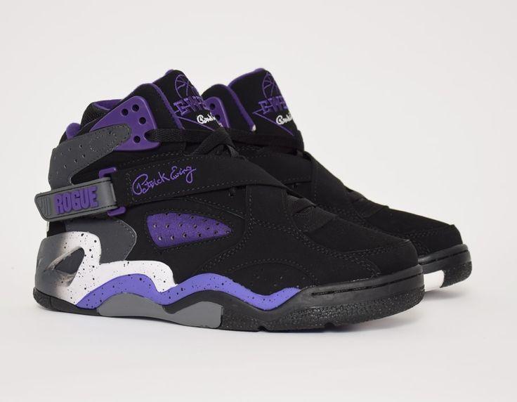 Ewing ROGUE - High-top trainers - white/black/purple /orange pp6NYQC