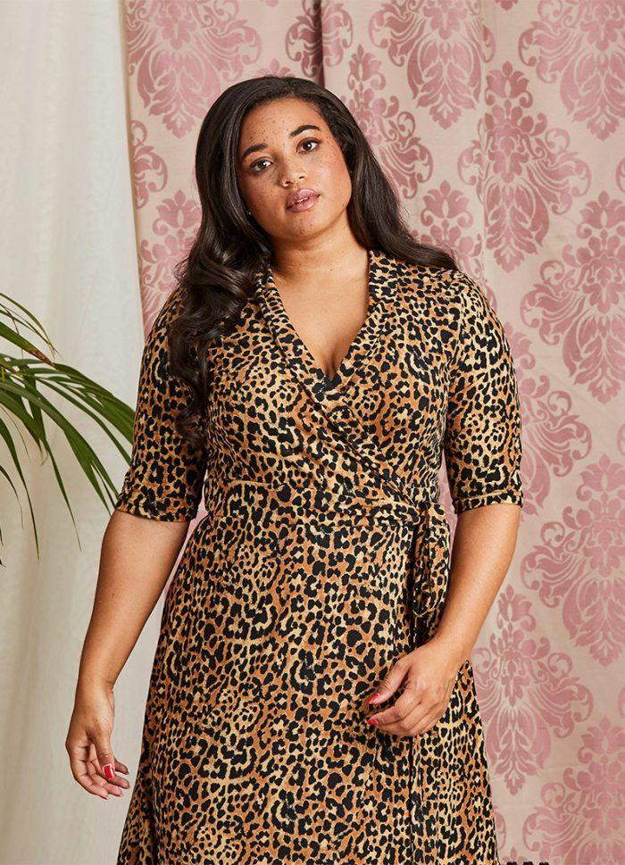24c405375b2829 Lotta Leopard Print Wrap Dress #JoanieClothing #Joanie #joaniegal #vintage  #vintagestyle #vintageinspired #vintagelook #retro #nostalgic #pinup  #retrostyle ...