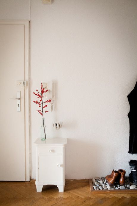 Anke Eberhardt's apartment in Munich / photo by Evi Lemberger