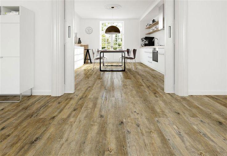 Con aspecto de madera natural. Pavimento vinílico Scala 30 Connect, de DLW Flooring