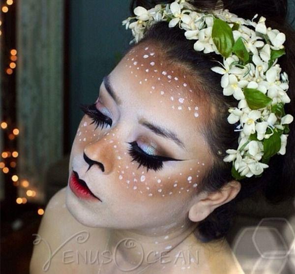 Doe Deer Makeup Tutorial Halloween