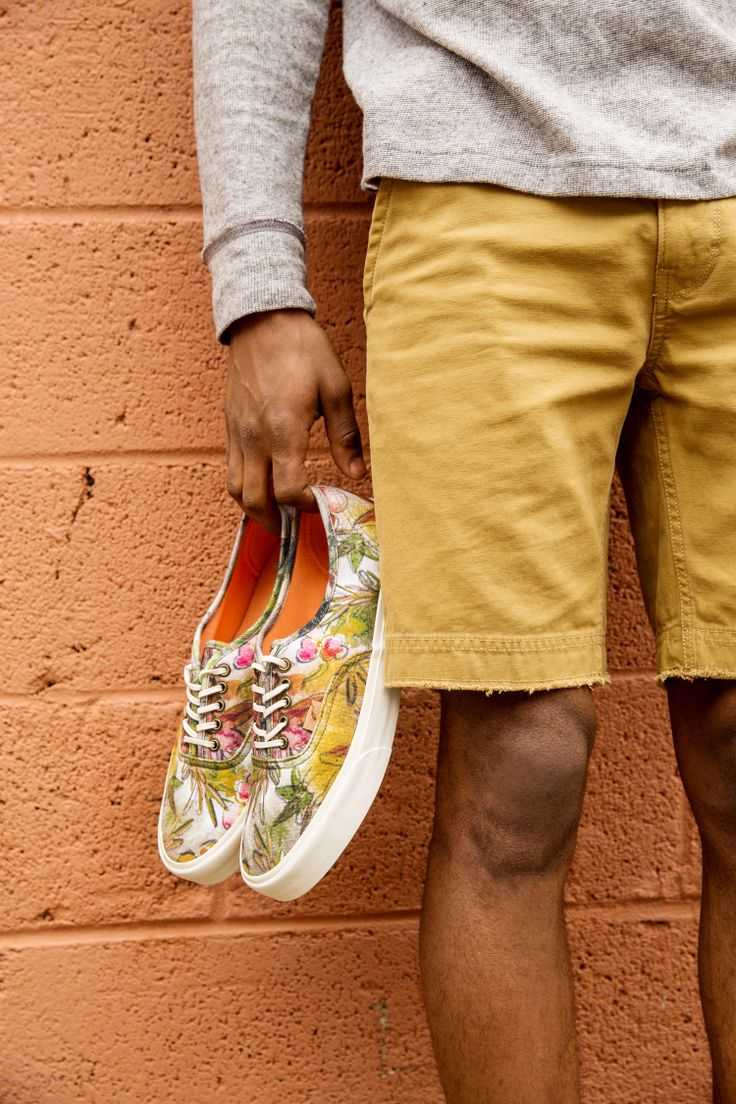 Classic Vans updated with new prints. #urbanoutfitters