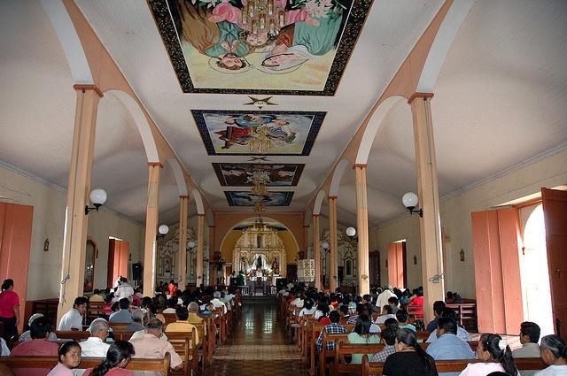 INTERIOR DE LA IGLESIA DE CATARINA.MASAYA - NICARAGUA by Felixaguirrea, via Flickr