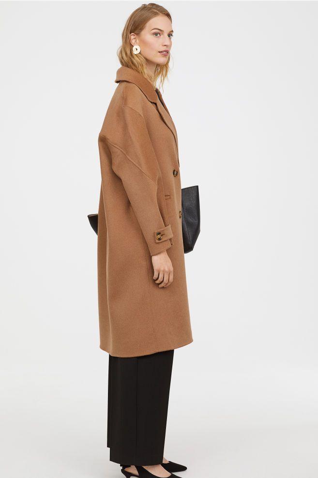 köpa billigt New York 50% pris Kappa i kashmirmix in 2020   Coat, Fashion, Womens_fashion