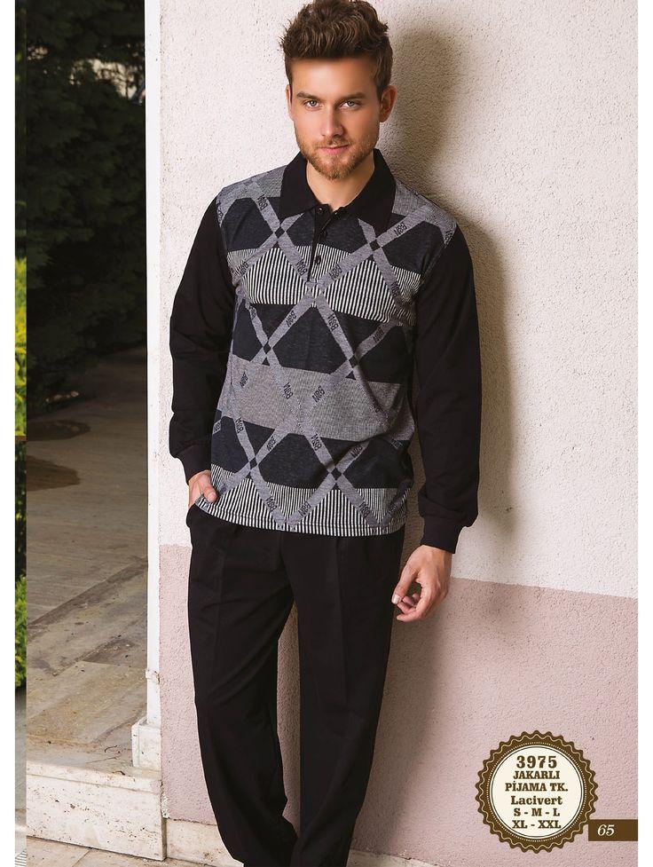 Bone Club 3975 Erkek Jakarlı Pijama Takım | Mark-ha.com #erkek #eşofman #stylish #fashion #newseason #yenisezon #trend #moda