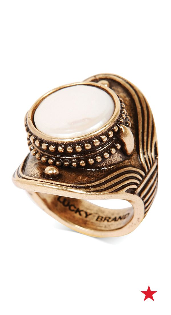 Pasionae Lava Ring - UK N - US 6 1/2 - EU 54 RTBcryWvd