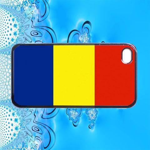 Romania Flag iPhone 4 Case / iPhone 4s Case / iPhone 4 Cover