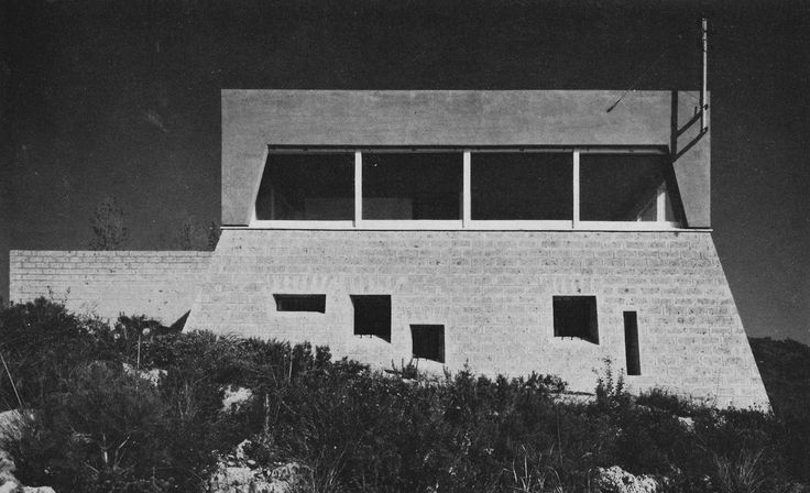 Private Residence, Porto Ercole, Italy, 1960s  (Christian Norberg-Schulz)
