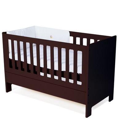 Classic cot/bed in Mahogany