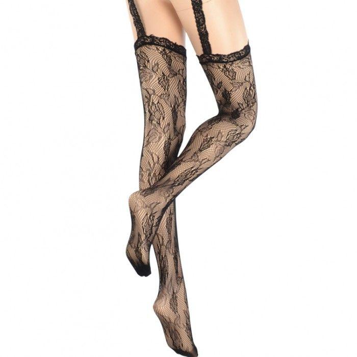 Black Garter Belt and Stockings