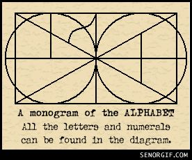Monogram of the alphabet - This picture makes up every book you have every read and ever will read. <-- . . . Do you realise how long I could spend sitting here and finding every single letter, and not be bored? *wrenches eyes away*