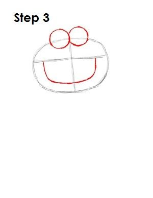 how to draw sesame street