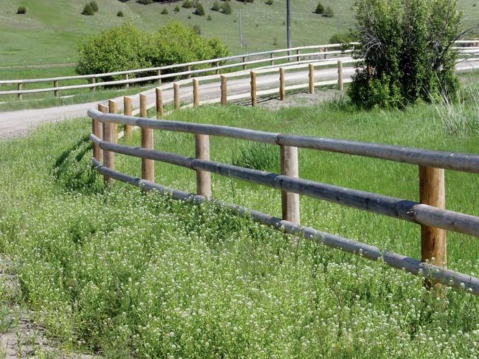 Wood Split Rail Fence Designs Three Rail Split Rail