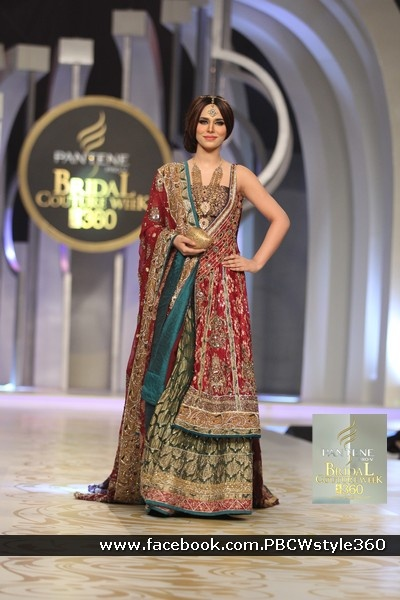 pantene bridal couture week karachi fashion show