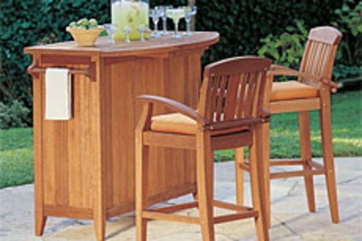 S 4 Restoration Hardware Outdoor Furniture Sunbrella Bar