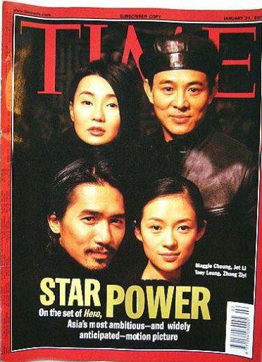 Hero , Jet Li , 2002