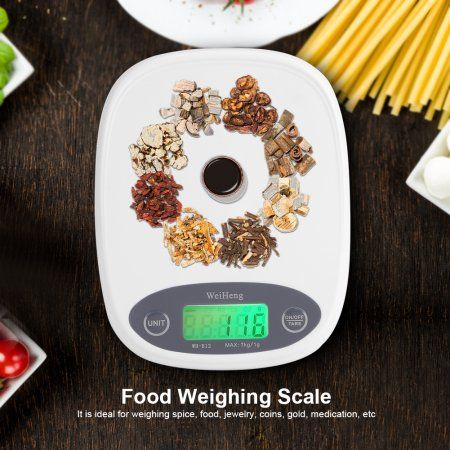 Electronic Mini Kitchen Scale, Estink 7000g/1g LED Display Smart Food Scale and Multifunction Kitchen Weighing Balance