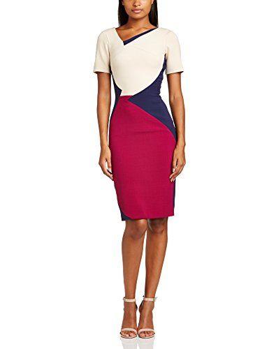 Hybrid Women's Daria Pencil Short Sleeve Dress, Blue (Cream/Navy/Magenta), Size 6 Hybrid http://www.amazon.co.uk/dp/B00K8W3K16/ref=cm_sw_r_pi_dp_ZBbHub1WKKBH0