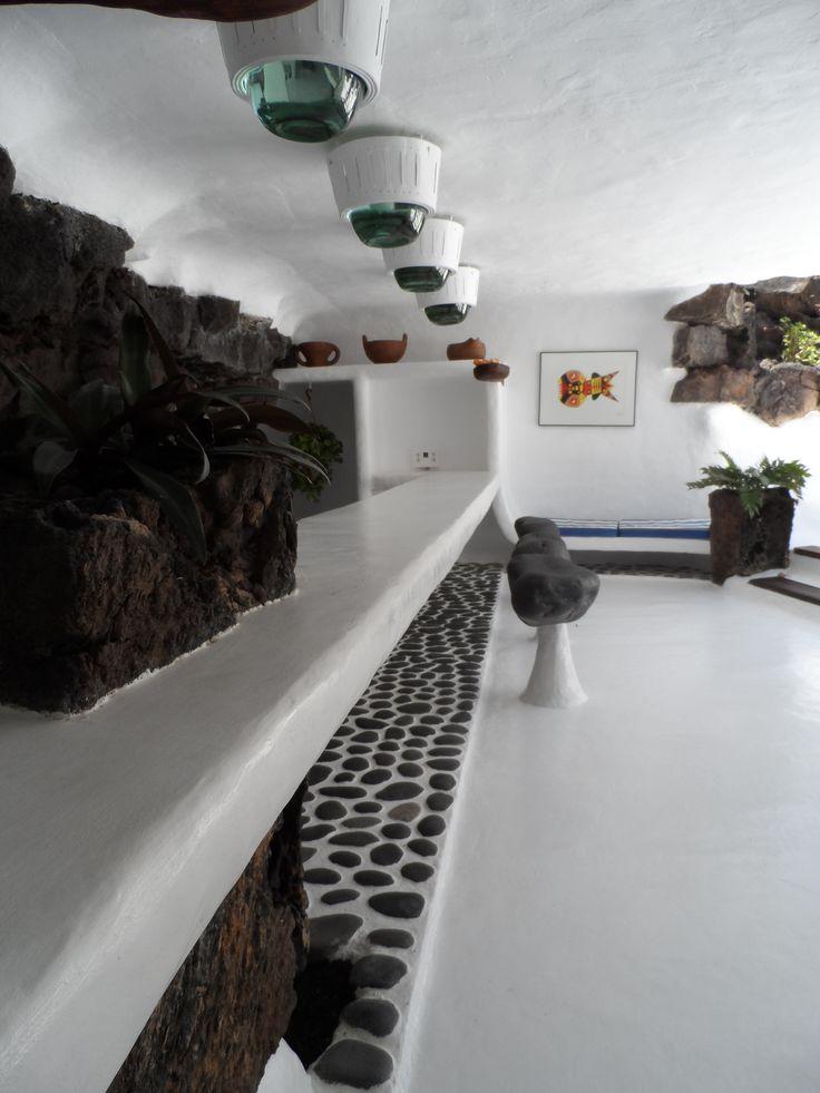 Bar design, Jameos del Aqua, by Cesar Manrique, Lanzarote